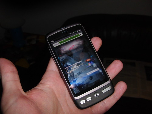 my new HTC Desire smartphone | by Retinafunk