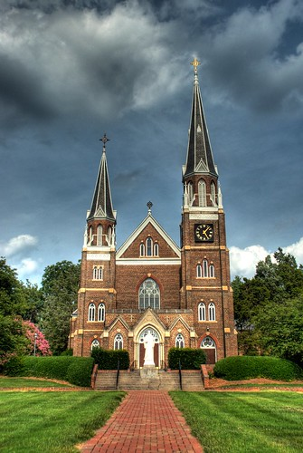 The Monastery at Belmont Abbey College in HDR | by Carolinadoug