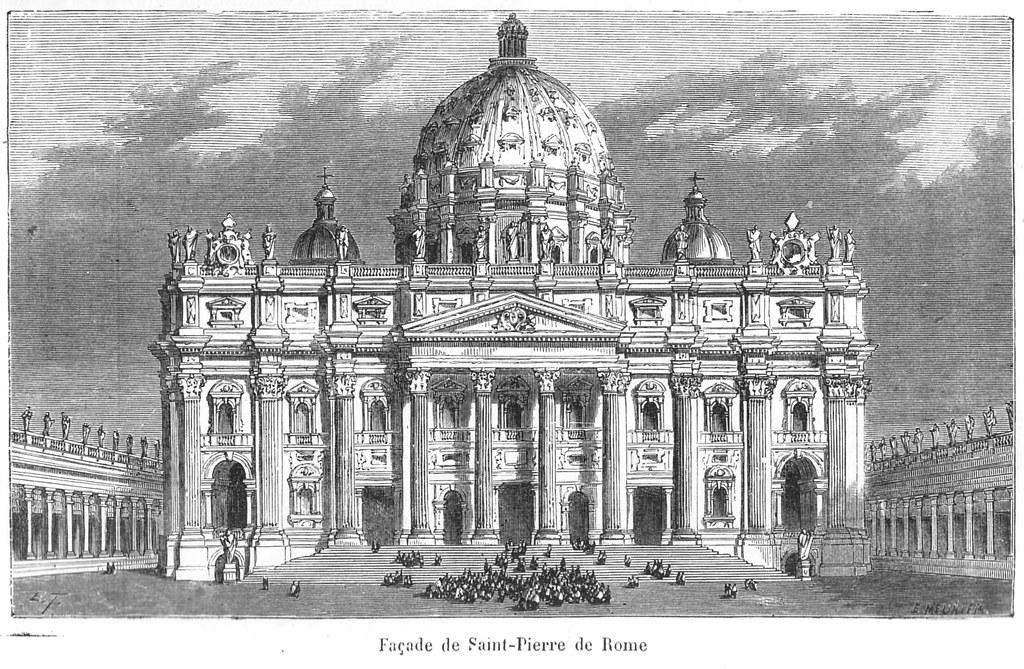LE monument religieux de Rome : La Basilique de Saint Pierre – Image de Ωméga * @ Flickr