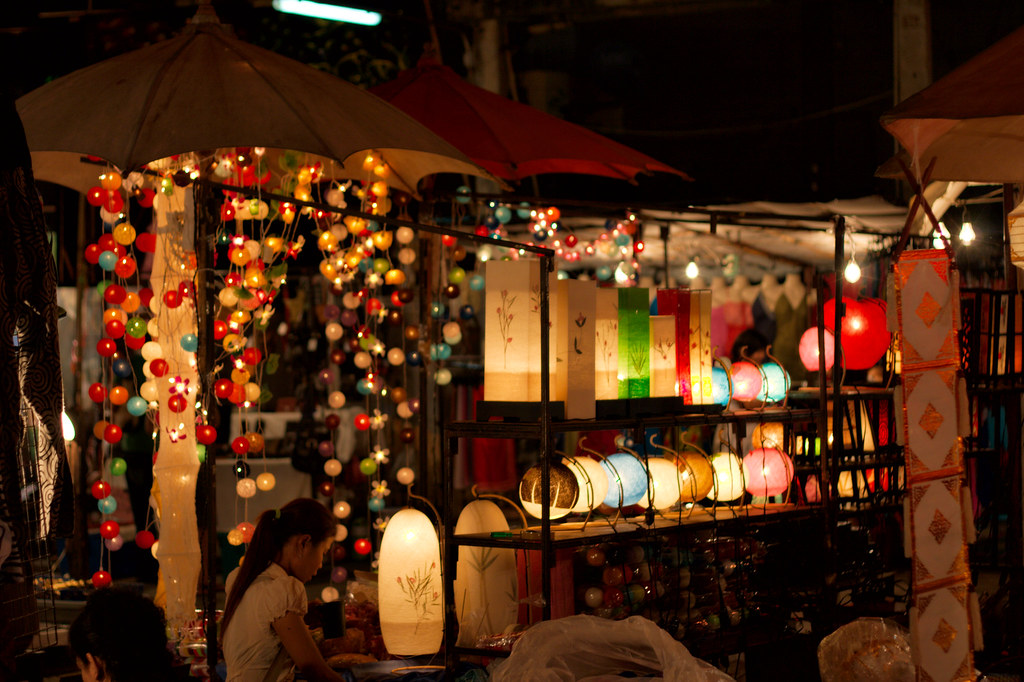 The Chiang Mai Sunday Market offers reasonably priced products