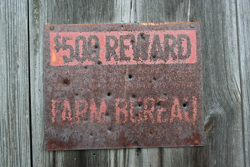 $500 Reward, Farm Bureau | by danxoneil