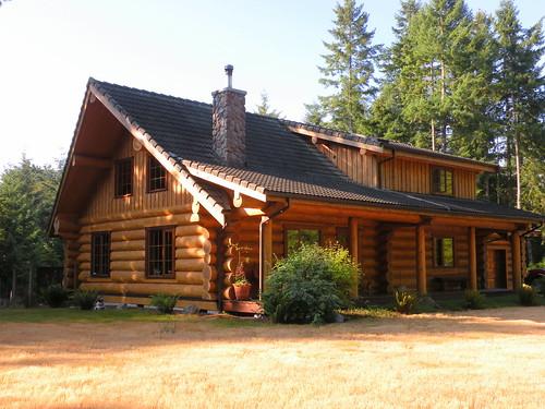 Will kate 39 s 39 log cabin 39 paul hamilton flickr for Log cabin portici e ponti