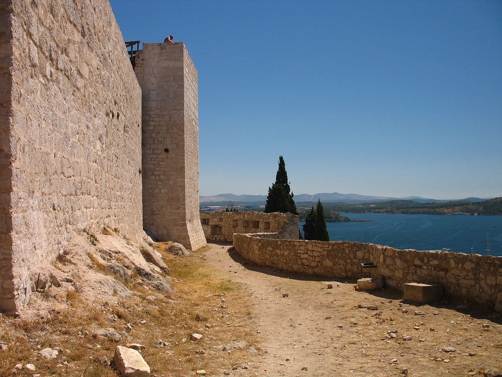 Sibenik - St. Nicolas fort