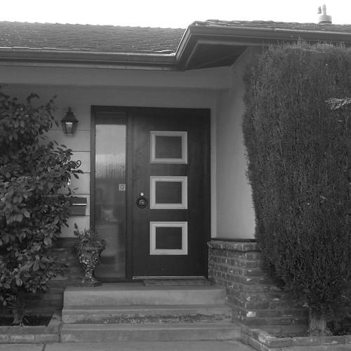 Mid century modern front door flickr photo sharing for 1950s front door styles