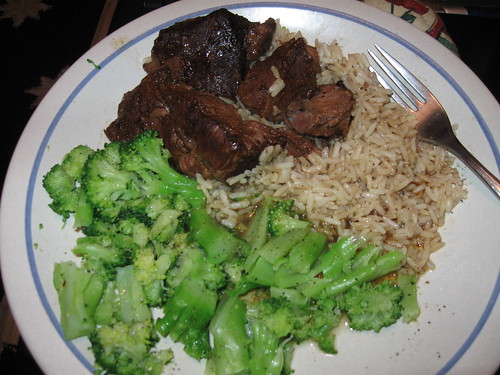 Hormel Beef Roast, rice & Broccoli | by Jennifer Lynn Photos & Design