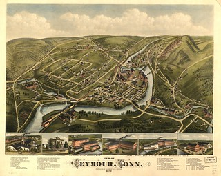 View of Seymour, Conn. 1879. | by uconnlibrariesmagic