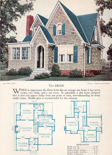 1928 Home Builders Catalog The Dean From The