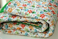 Mountain Baby Quilt | by cluckclucksew