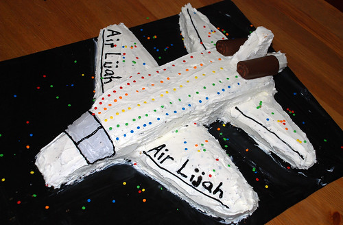 Cake With Airplane