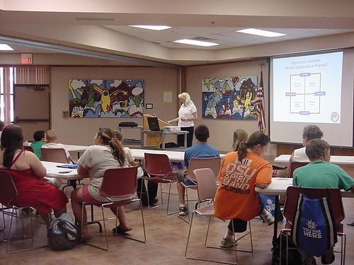 Self-Defense | Katherine Taylor teaches teens in Shawnee ...