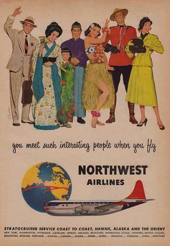 You Meet Such Interesting People When You Fly Northwest Airlines | by The Cardboard America Archives