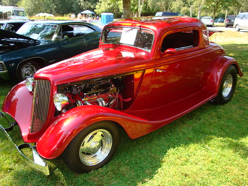 1934 ford 3 window coupe street rod custom cab flickr for 1934 ford 3 window coupe custom