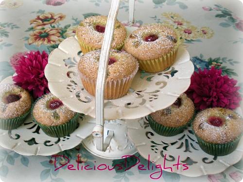 Pistachio-Raspberry Tea Cakes | Flickr - Photo Sharing!