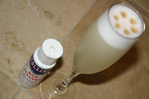 Pisco Sour with Collin's Bar Foamer | by ReeseCLloyd