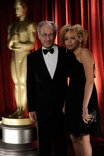 2009 Academy Awards: Steven Spielberg and guest | by USA TODAY