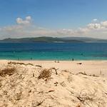 Playa Figueira o de los Alemanes. Islas Cies