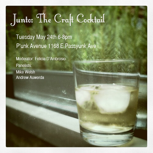 Junto: The Craft Cocktail | by P'unk Ave