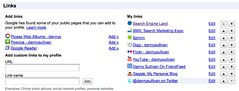 Adding Links To Google Profiles | by search-engine-land