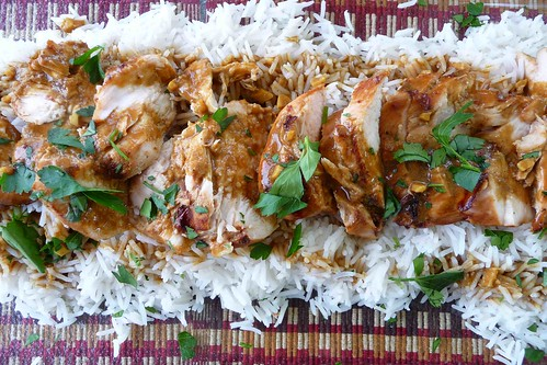 Grilled Chicken with Soy-Curry Sauce | Flickr - Photo Sharing!