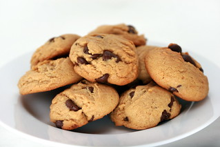 Peanut Butter-Chocolate Chunk Cookies | by Food Librarian