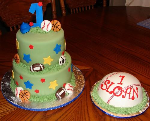 Baseball Theme Cake Smash