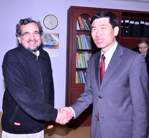 Meeting with Dr. Mihir Shah, Member Planning Commission | by UNDP in India