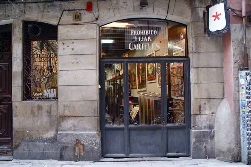 Prohibido Fijar Carteles : Magasin d'affiche à Barcelone
