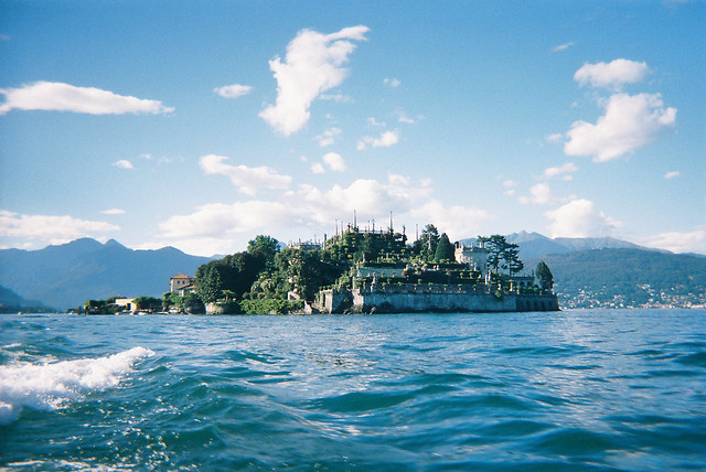 Isola Bella from the ferry