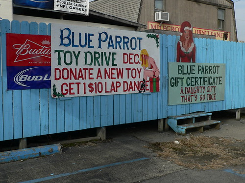 Tis The Season At The Blue Parrot Full Nude Strip Club -1446