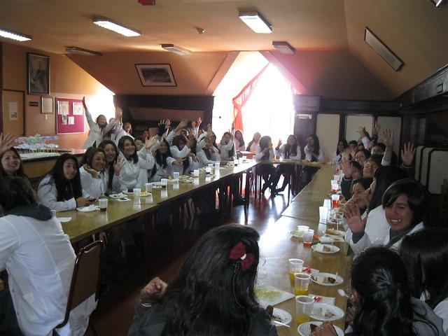 Bienvenida Alumnas CEAT 2014