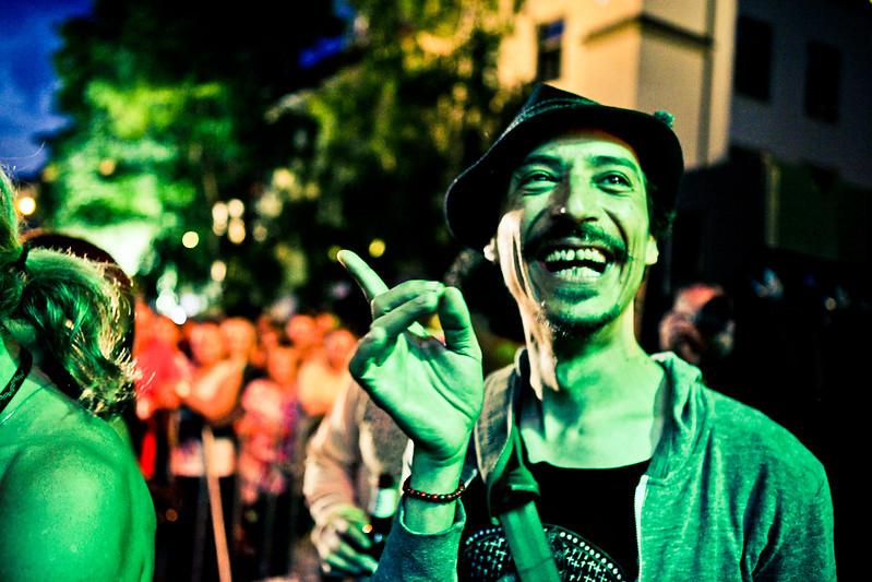 > Durante un concerto klezmer della Cultura Ebraica Festival a Cracovia - Fot. Mariusz Cieszewski