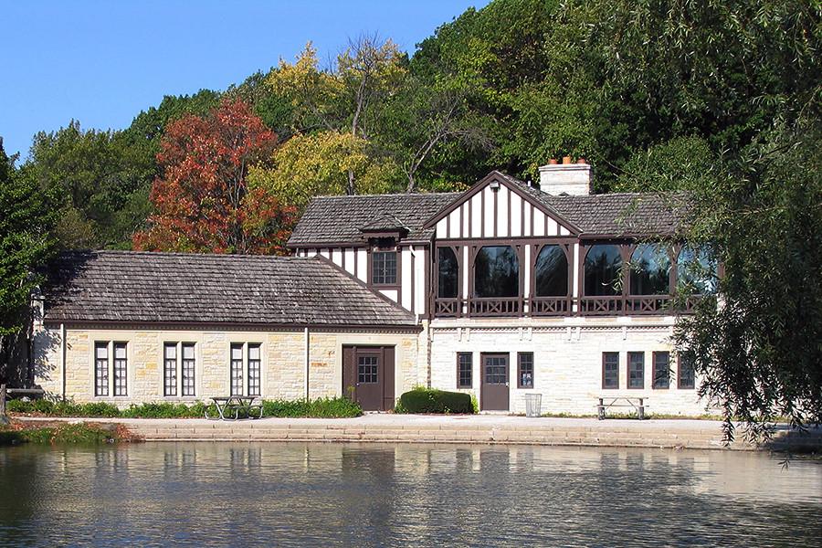 Brown Deer Park Boathouse Flickr