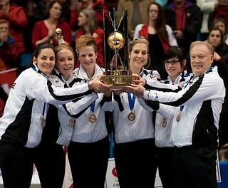 Saint John N.B.Mar23_2014.Ford World Woman's Curling Championship, Gold Medal Team Switzerland.CCA/michael burns photop | by seasonofchampions
