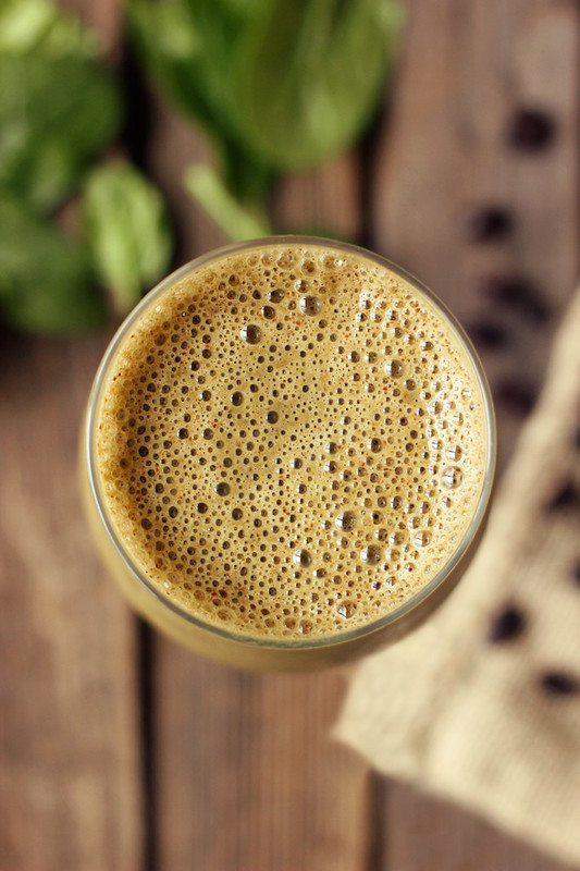Energizing Mocha Green Smoothie