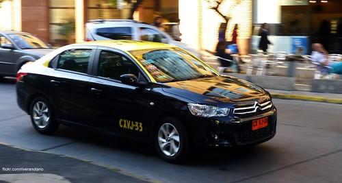 Citroën C-Elysée Taxi - Santiago, Chile