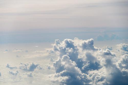 空の上から