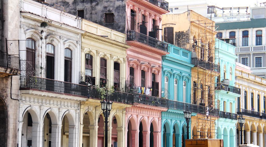 Colorful Architecture - Havana, Cuba