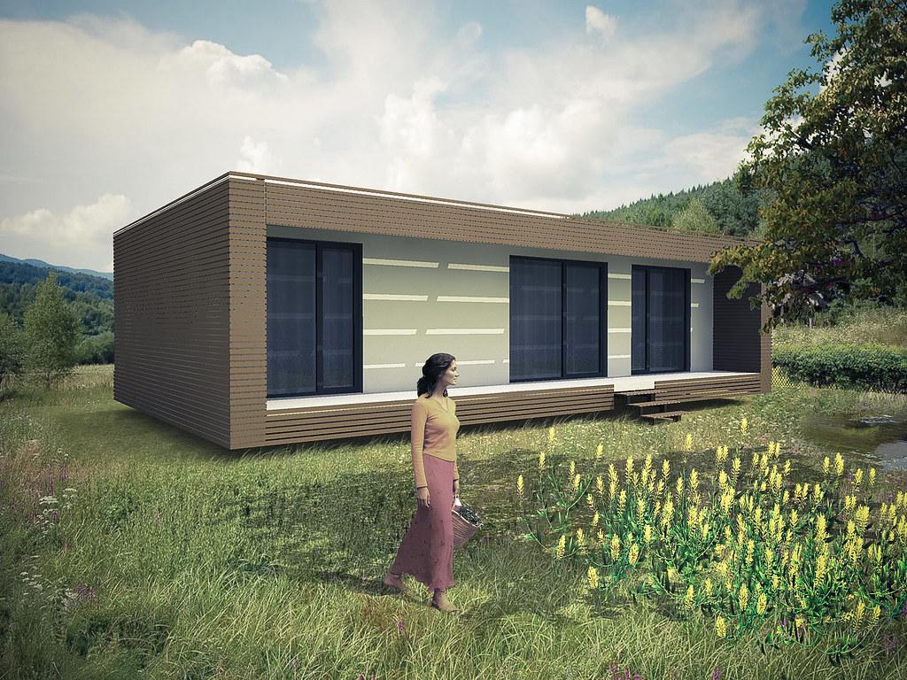 Casas Pre-Fabricadas, Casas Modulares, Casas de Madeira, Casas Ecologicas-366