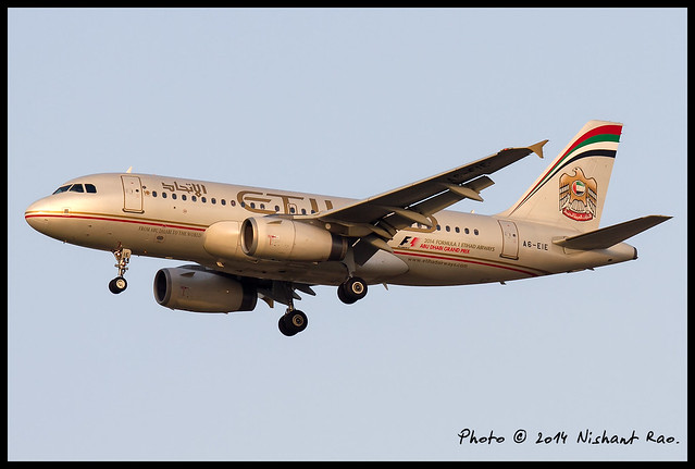 Etihad Airways Airbus A319-132