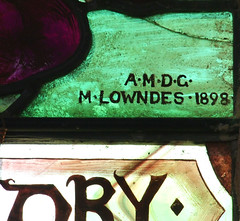 AMDG Mary Lowndes 1898