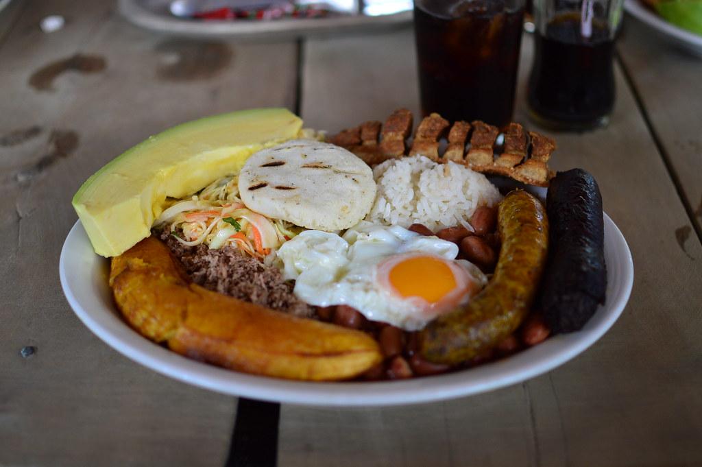 Que delicia, Bandeja Paisa, Colombia