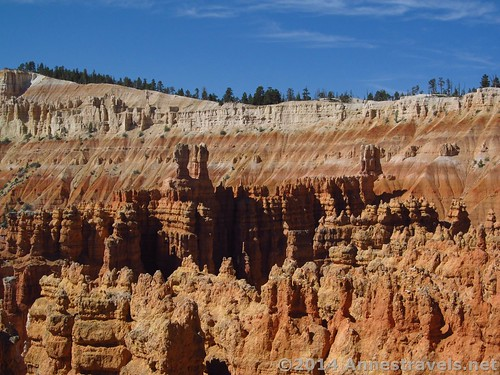 Views from the Navajo Trail in Bryce Canyon, Utah