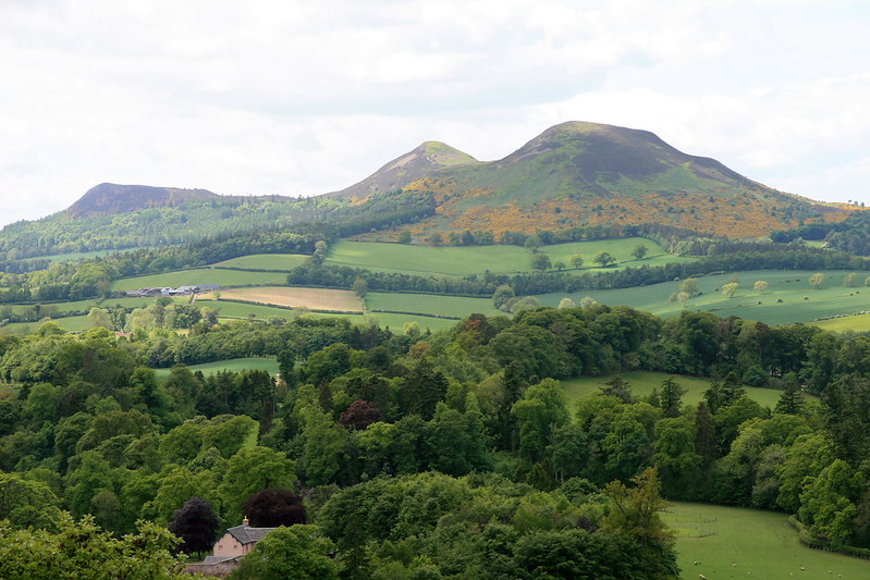 Eildon Hills - from Scott's View