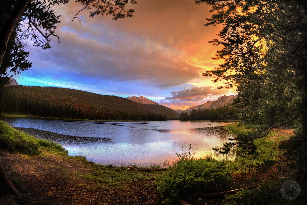 Twin Lakes Cabin Montana Flickr