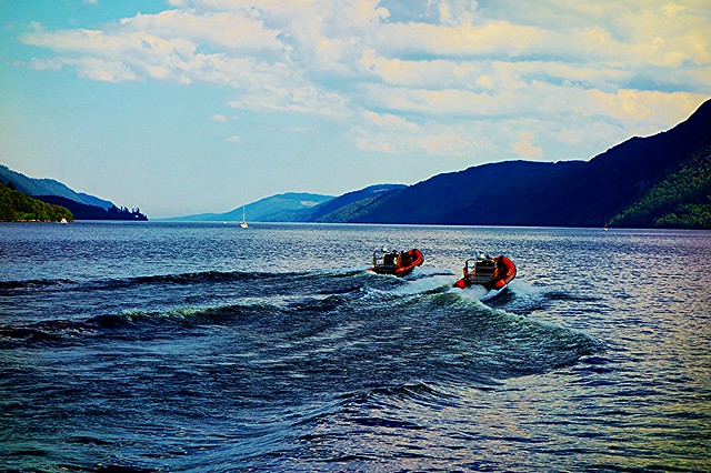 Boat trips departing Fort Augustus, Loch Ness, Scotland.