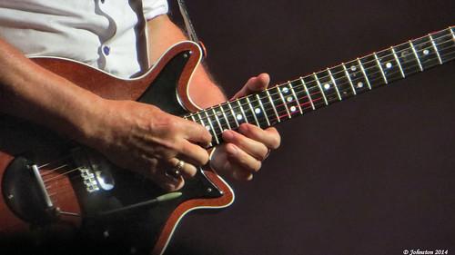 Brian's solo, closeup