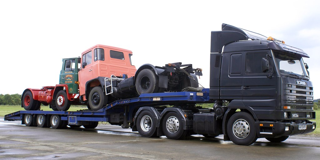 Keltruck's classic Scania trucks