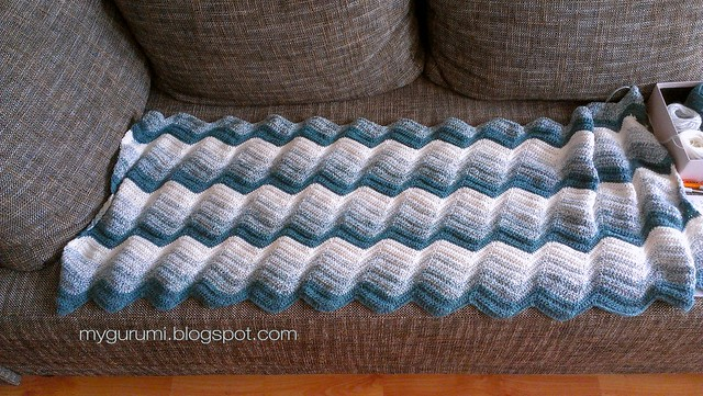 baltic ripple blanket