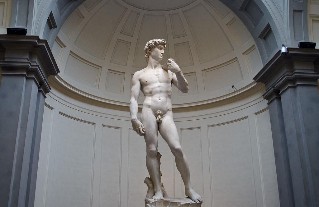 Florencia. El 'David' de Miguel Ángel.