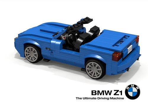 bmw z1 roadster 1989 the bmw z1 was a two seat roadster flickr. Black Bedroom Furniture Sets. Home Design Ideas